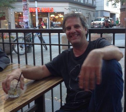 PARKS SCUFFLE SURVIVOR Dave Meinert, telling war stories