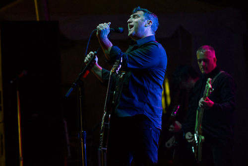 Greg Dulli of Afghan Whigs Dulli: diva-ish, even in the drizzle.