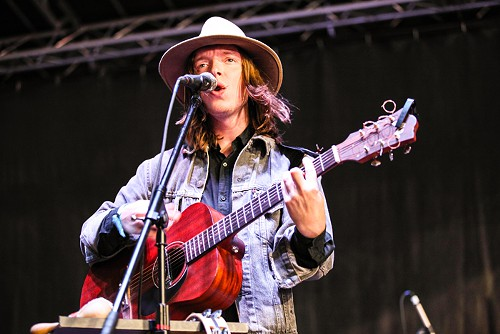 Jacco Gardner played quirky indie rock to a sleepy crowd.