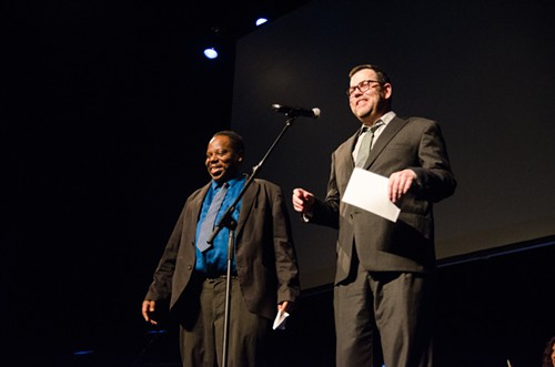 The Strangers Charles Mudede and David Schmader introducing this years incredibly talented nominees for film Genius.