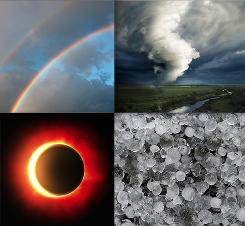 Yesterday the region saw a tornado, rainbows, hailstorms, eclipse, not to mention rain, thunderstorms, and some lovely fall sun. As KING5 asked on Twitter yesterday: Does anyone have weather bingo yet?