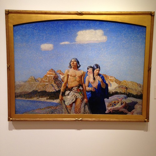 Oy, N.C. Wyeth. Just oy. Painting from 1915.
