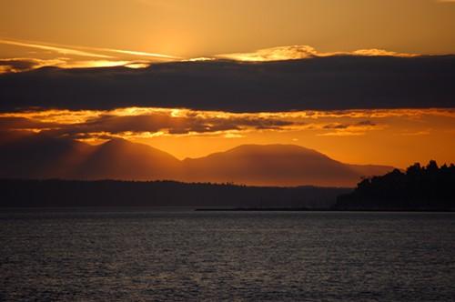 A Bainbridge Island kayaker went missing yesterday afternoon.