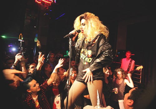 Party!: Last years RuPauls Drag Race runner-up, Adore Delano, brought her much anticipated live concert to Neighbours of Friday night. The show was originally scheduled for August, but when Adores father passed away, the show was rescheduled, and well worth the wait.