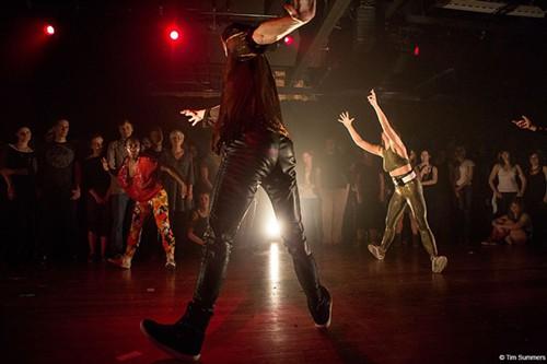 Nichi Douglas, Thomas Gibbons and Alexandra Albrecht of the Dance Cartel