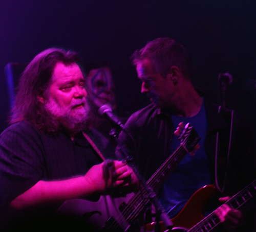 Perhaps less recognized by the younger peoples of Burgerama was Roky Erickson. He is a living legend though, and many WILL miss him when hes gone.