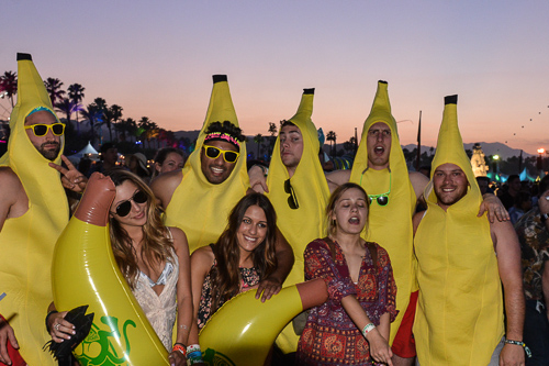 This festival is bananas