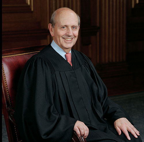 Justice Breyer just hammered a nail into the coffin of Baker v. Nelson. Hopefully. It may come back as a sparkly vampire.