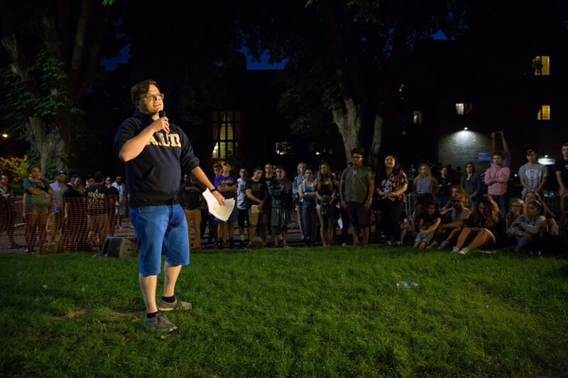 Daniel Ojalvo, an alumni of the Jewish fraternity Alpha Epsilon Pi in Minnesota, says If your fellow fraternity members are being racist, sexist, homophobic, trans-phobic, Islamophobic or just freakin bigoted, you have a moral obligation to call them out.