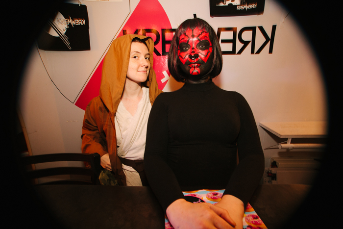 The Kremwerk staff got into the spirit with some incredible costumes of their own.