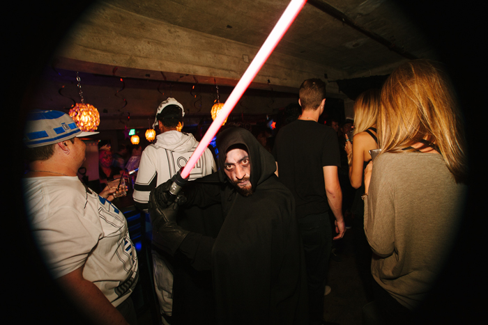 The dark side was out in full Force, with plenty of Sith Lords around to dance battle those repping the Rebel Alliance.