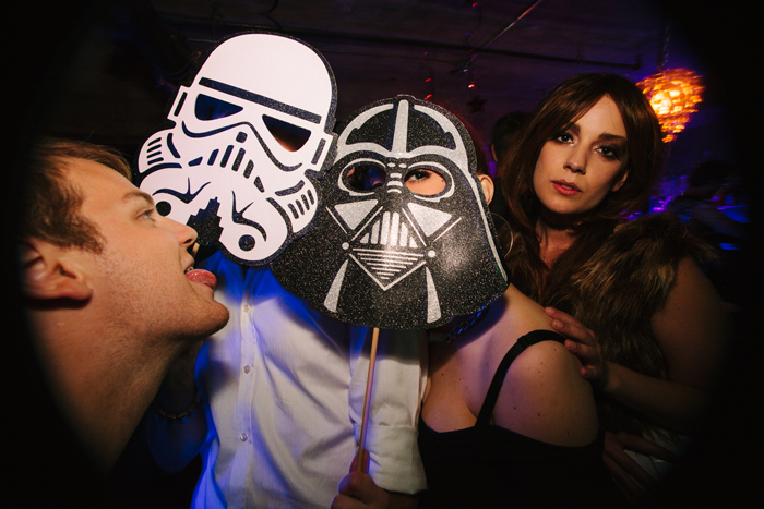 Sometimes all it takes is a cardboard mask to turn a young Jedi to the dark side.
