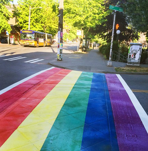 11th and Pine: Still gay!