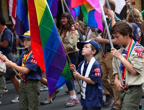 The littlest Boy Scout