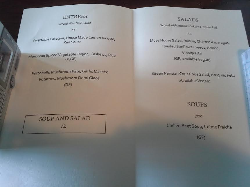 Viva Ate: Davids & Cos special Morrissey menu.