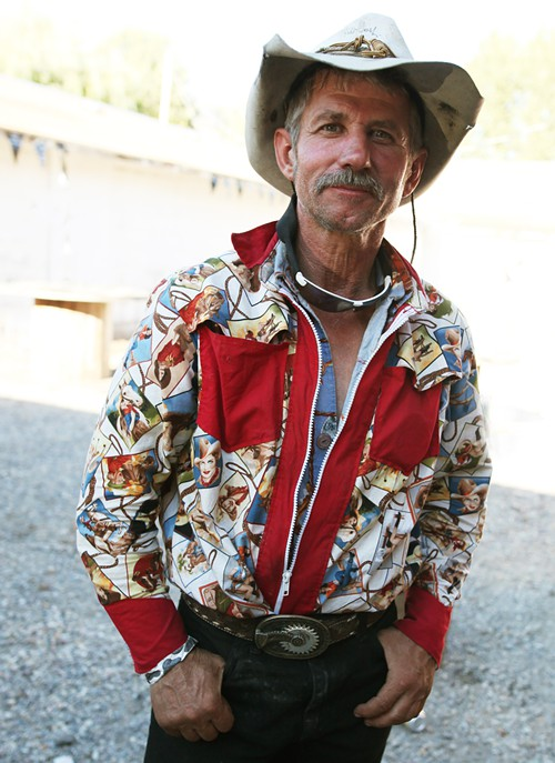 Now THAT is a cowboy shirt!