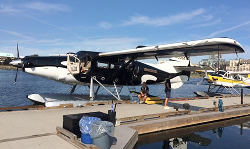 Orca seaplane.