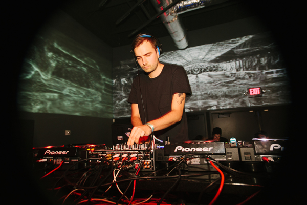 Cyril Hahn gets the dance floor grooving at Q Nightclub on Friday night.