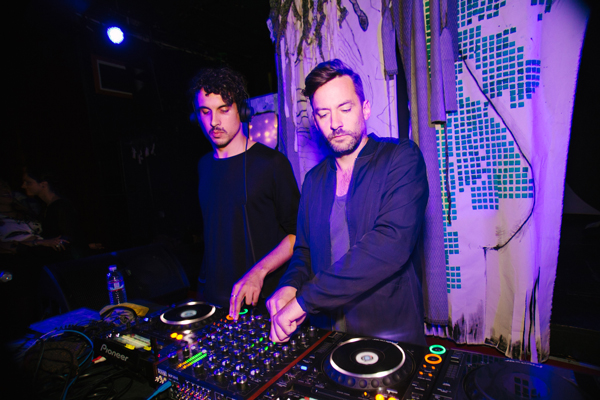 Bonobo plays a surprise after hours set at Re-bar in the wee hours of Sunday morning.