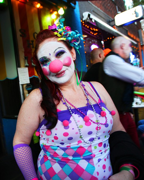 Usually clowns arent so pretty