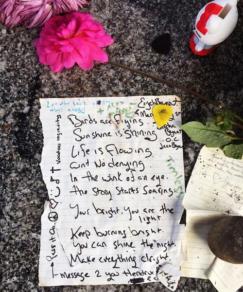 Jimi Poem + a wishbone.