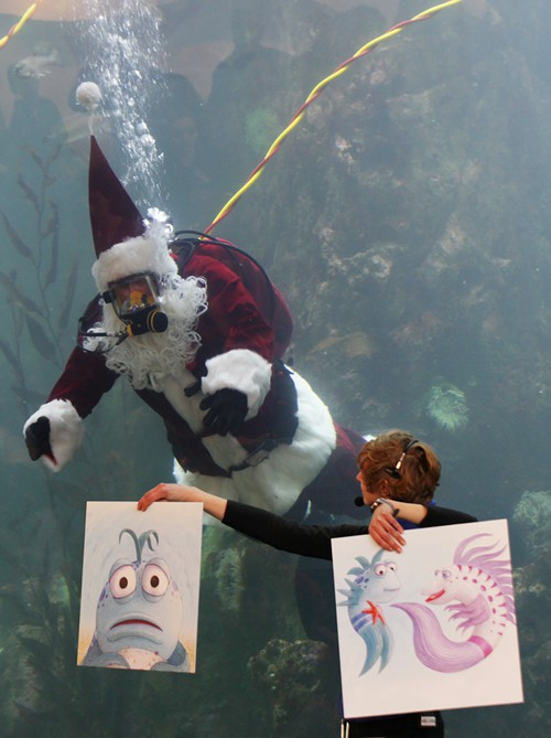 Now its time for holiday stories… about fish!