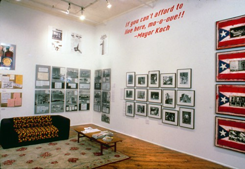 Home Front was one part of If You Lived Here... at Dia in New York in 1989, the series of exhibitions to be archived and reactivated at The New Foundation Seattle.