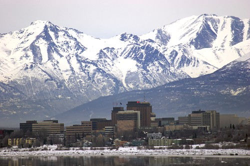 Record-breaking winter for Anchorage, Alaska.