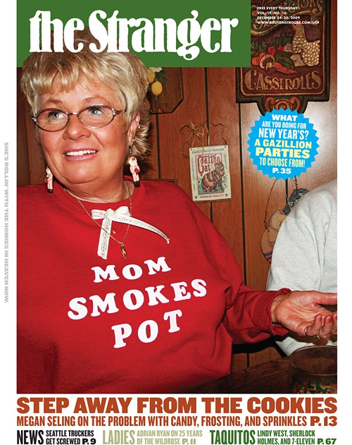 This Holiday Cover: Mom Smokes Pot