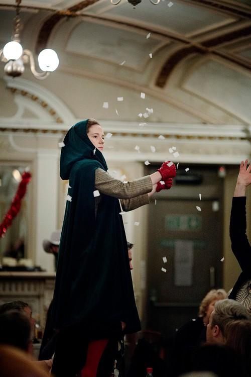 Jessica Hardwick as Prudencia, an Scottish folk scholar who falls down a ballad hole.